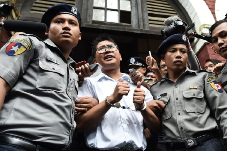 سجن صحفيين من رويترز 7 سنوات بتهمة خرق قانون الأسرار الرسمية في ميانمار