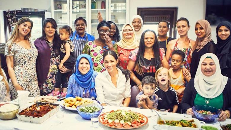 ميغان ماركل تدخل عالم الطبخ..بوصفات شرق أوسطية وشمال أفريقية
