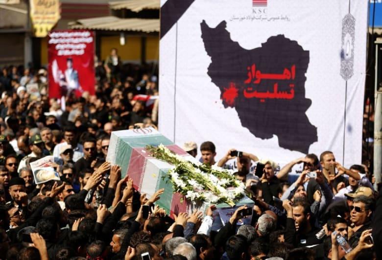"""إيران تشن """"هجوما صاروخيا"""" على """"إرهابيي هجوم الأحواز"""" شرق الفرات"""