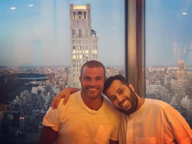 عمرو دياب ينشر صورته مع تركي آل الشيخ بعد الألبوم الجديد.. ما رد فعل متابعيه؟