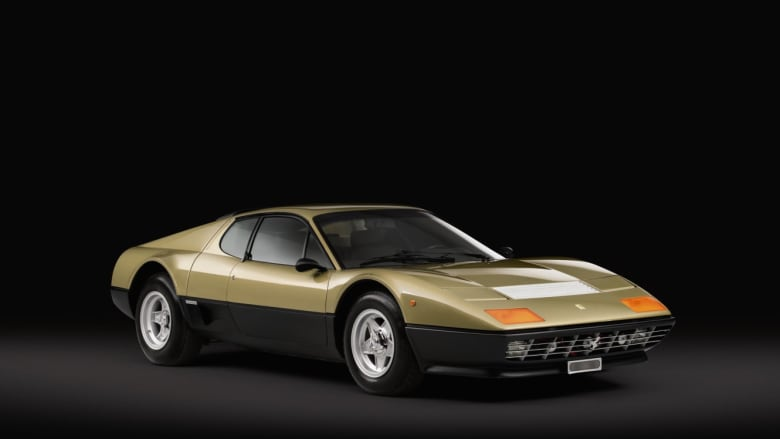 سيارة فيراري الذهبية في أول مزاد مخصص للذهب بالعالم