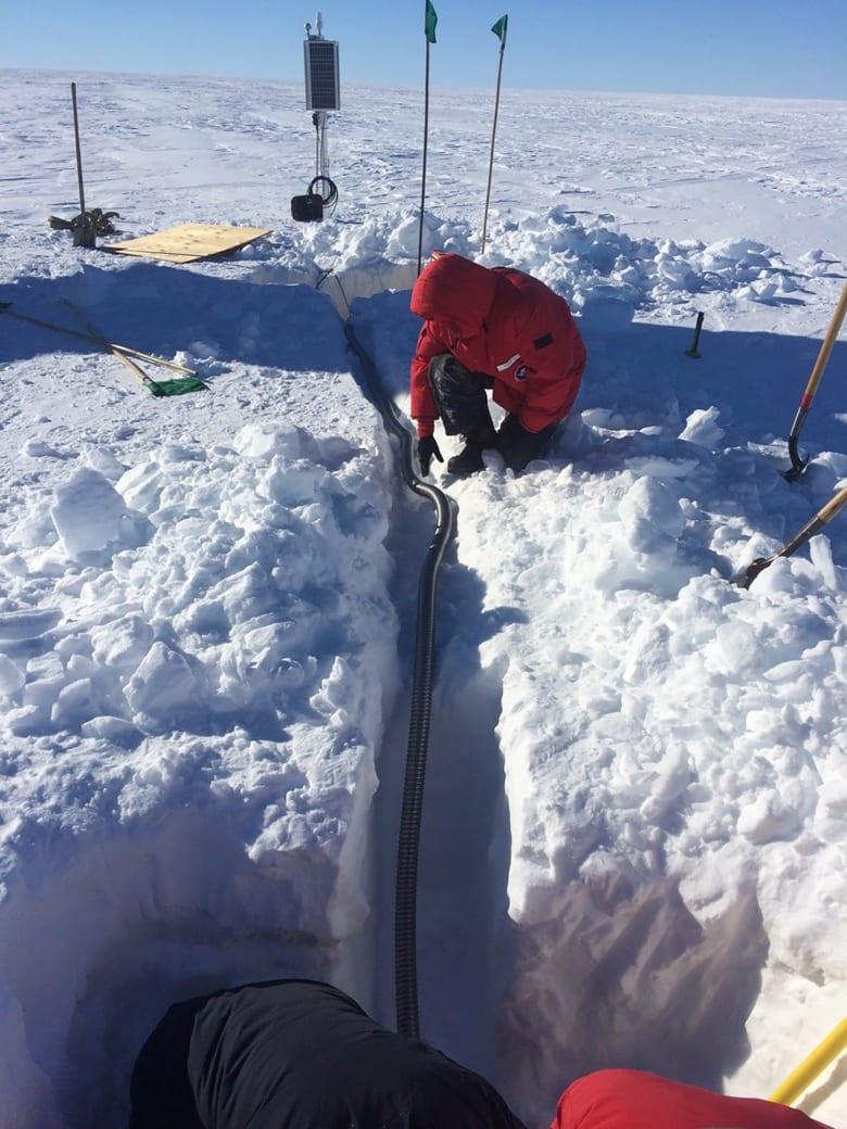"""دون مؤثرات.. علماء يكتشفون ضوضاء غريبة في """"القطب الجنوبي"""""""
