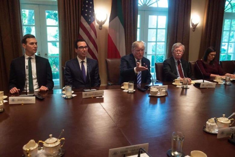 وزير الخزانة الأمريكي بعد لقاء ترامب وبومبيو: لن أشارك في مؤتمر الاستثمار بالسعودية