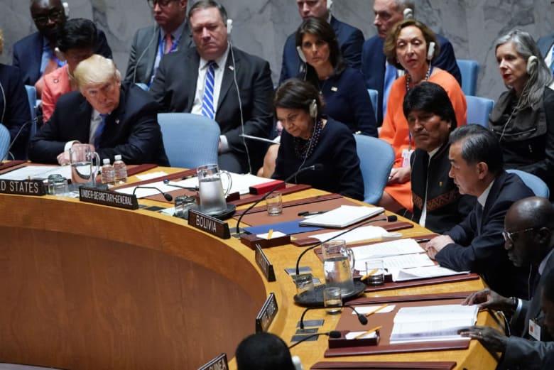 أول رد من الصين بشأن انسحاب أمريكا من معاهدة نووية مع روسيا