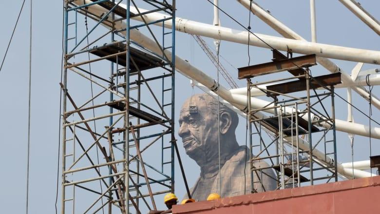 بالصور.. الهند تستعد رفع الستار عن أطول تمثال في العالم