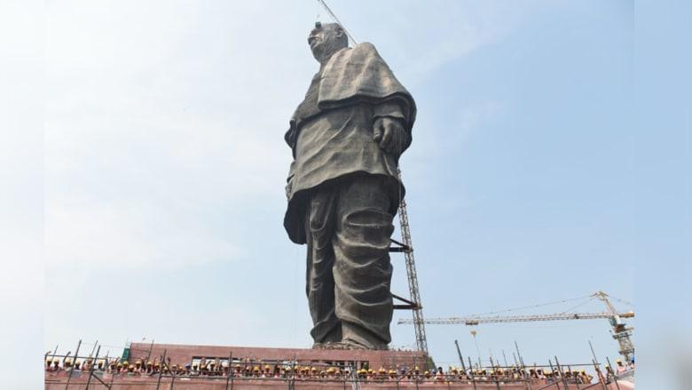 الهند تستعد رفع الستار عن أطول تمثال في العالم