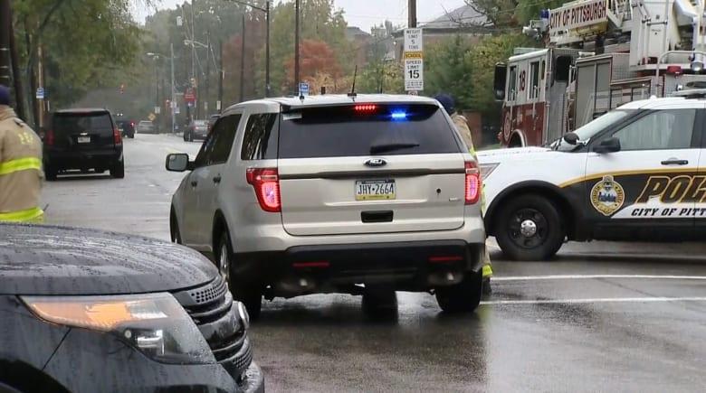 4 قتلى على الأقل في إطلاق النار داخل كنيس يهودي في بنسلفانيا