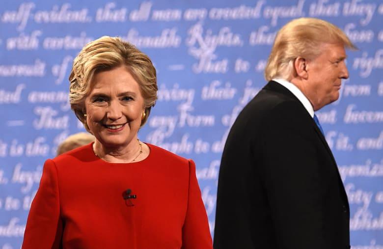 رد فعل هيلاري كلينتون عند سؤالها عن ترشحها لرئاسة أمريكا مرة أخرى