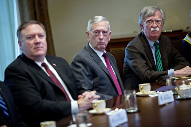 وزيرا خارجية ودفاع أمريكا يدعوان لوقف إطلاق نار باليمن خلال 30 يوما