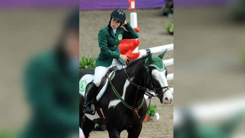 أول فارسة سعودية تمثل بلادها في دورات الألعاب الأولمبية.. فمن هي؟