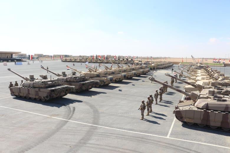 """انطلاق تدريبات """"درع العرب 1"""" العسكرية بمصر بمشاركة 5 دول"""