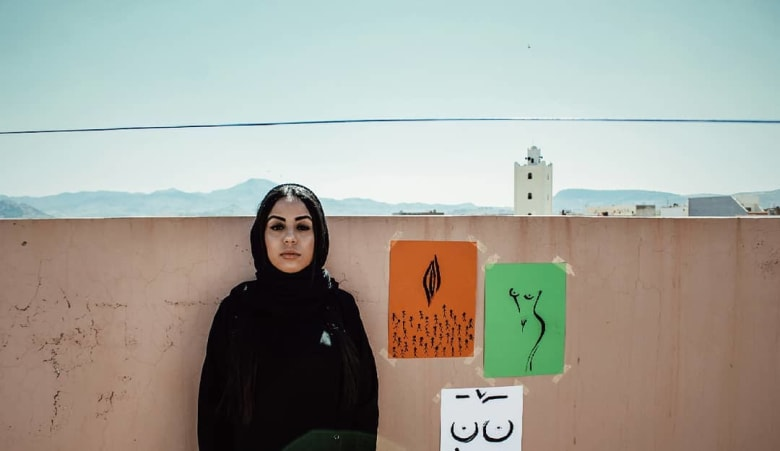 """صور فاطمة سري: بين """"تعدي الحدود"""" والتعبير عن """"واقع"""" المرأة العربية"""