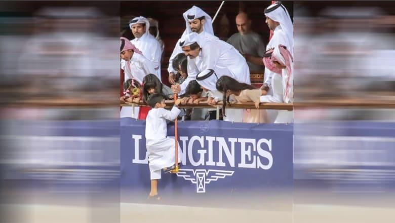 """شقيق أمير قطر ينشر صورة لـ""""الأمير الوالد"""" وهكذا علّق"""