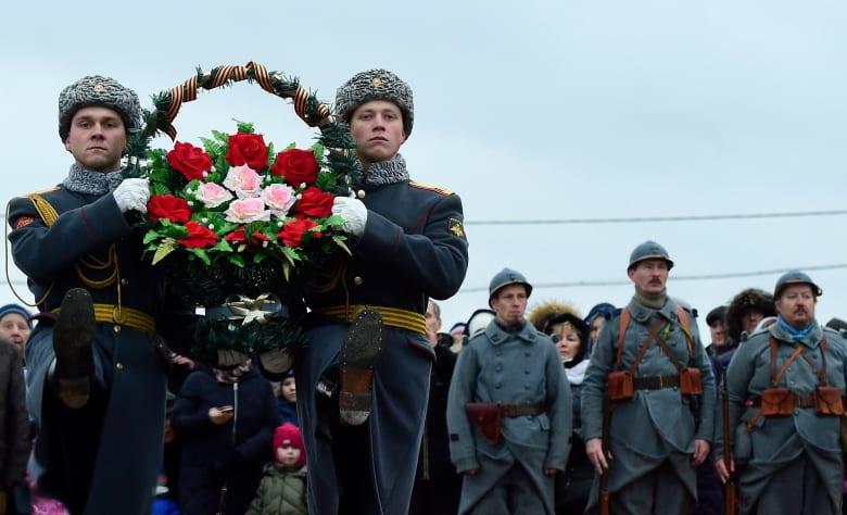 هكذا احتفل العالم بالذكرى المئوية لهدنة الحرب العالمية الأولى