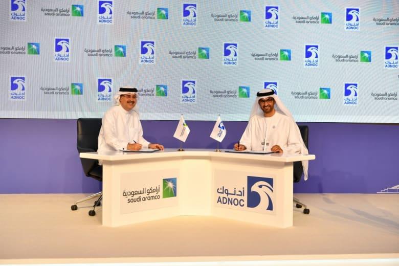 اتفاق سعودي إماراتي للاستثمار في قطاع الغاز