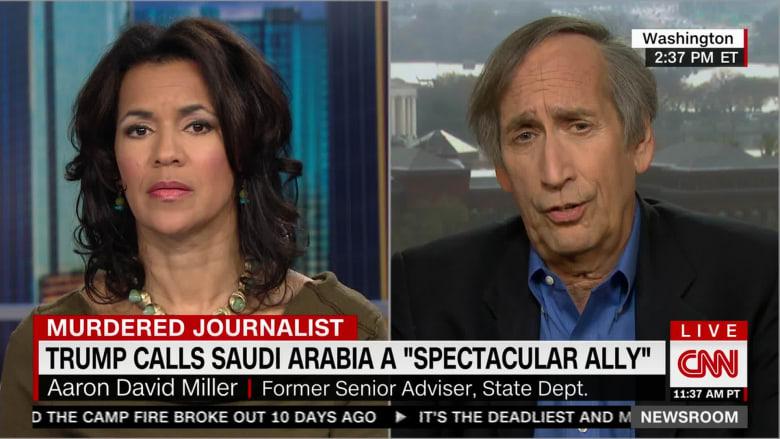ميلر لـCNN: ترامب يبحث عن طريق للحفاظ على علاقته مع السعودية وسط أزمة خاشقجي