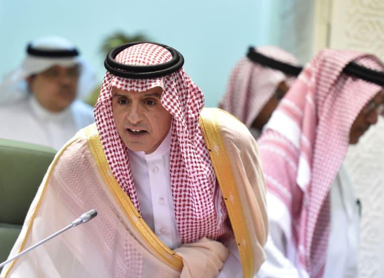 """وزير الخارجية السعودي يتحدث عن قضية خاشقجي: الملك سلمان وولي العهد """"خط أحمر"""""""
