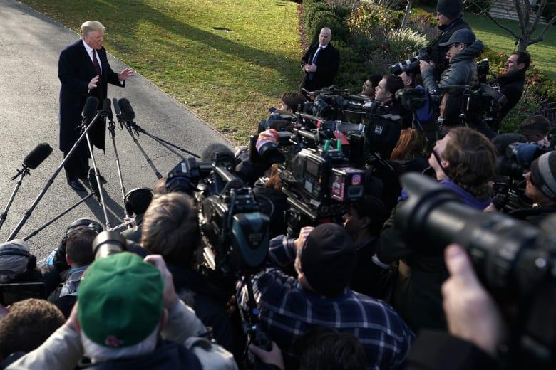 ترامب مدافعا عن بيانه: لن أتخلى عن السعودية بسبب مقتل خاشقجي