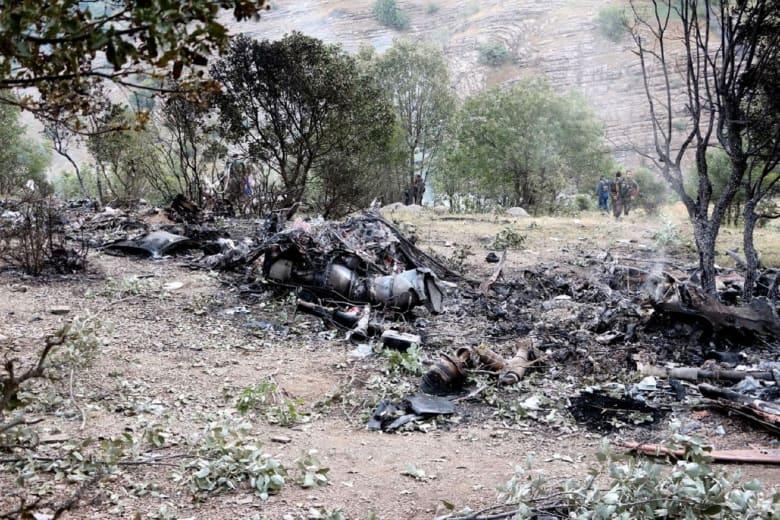 الأناضول: تحطم مروحية عسكرية بمنطقة سنجق تبه في إسطنبول