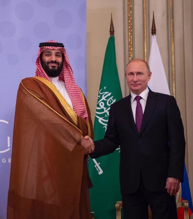 بوتين ومحمد بن سلمان يستعرضان التعاون في مختلف المجالات