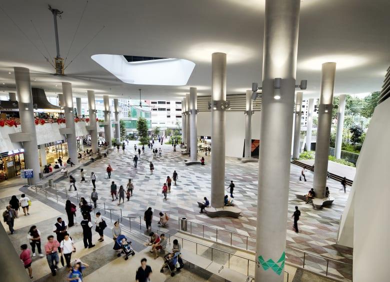 جائزة مبنى العام يحصدها مجمع لكبار السن في سنغافورة
