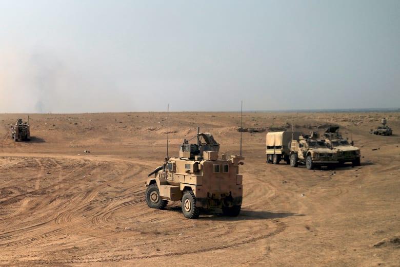 الجنرال ماكنزي: البغدادي يجري هربا في الصحراء للنجاة بحياته