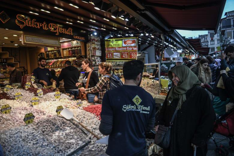 21 % انخفاضا في الناتج المحلي الإجمالي التركي بالربع الثالث