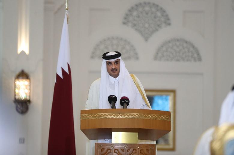 أمير قطر يتحدث عن الأزمة الخليجية بمنتدى الدوحة: لم يتغير موقفنا