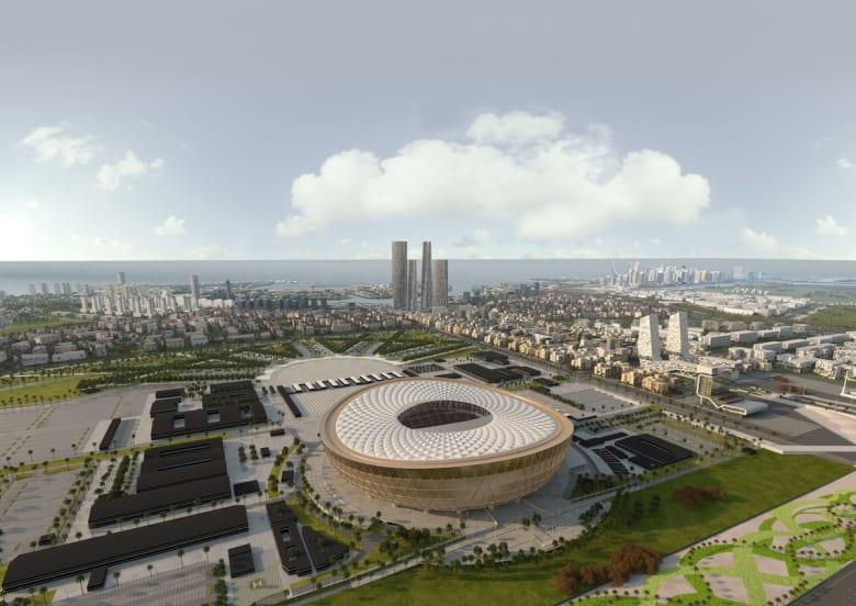 اللجنة المنظمة لقطر 2022 تكشف عن ملعب افتتاح ونهائي المونديال
