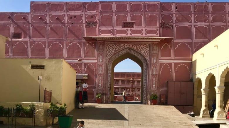 مدينة جايبور بالهند