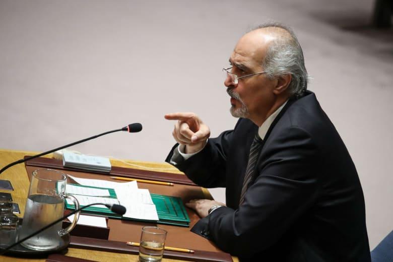الجعفري يستشهد بمقتل خاشقجي بشأن مشروع قرار سعودي حول حالة حقوق الإنسان في سوريا