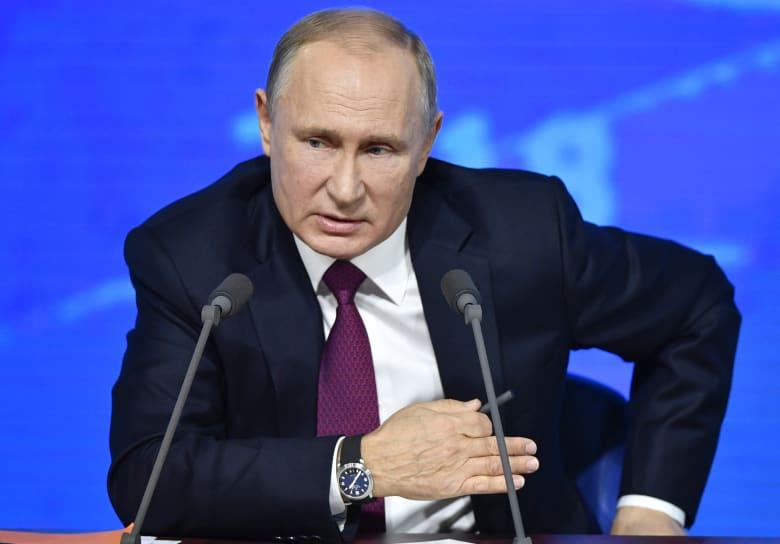 """بوتين يتحدث عن """"ازدواج المعايير"""" بقضيتي خاشقجي وسكريبال"""