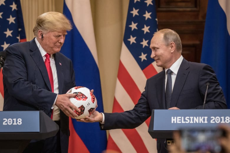 """بوتين في رسالة إلى ترامب: روسيا """"منفتحة على الحوار"""" مع أمريكا"""
