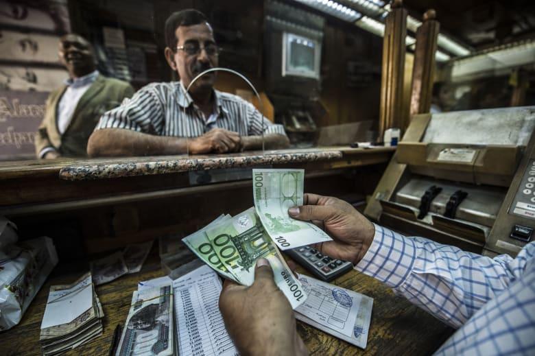 الاحتياطي الأجنبي في مصر يهبط لأول مرة منذ أكتوبر 2016
