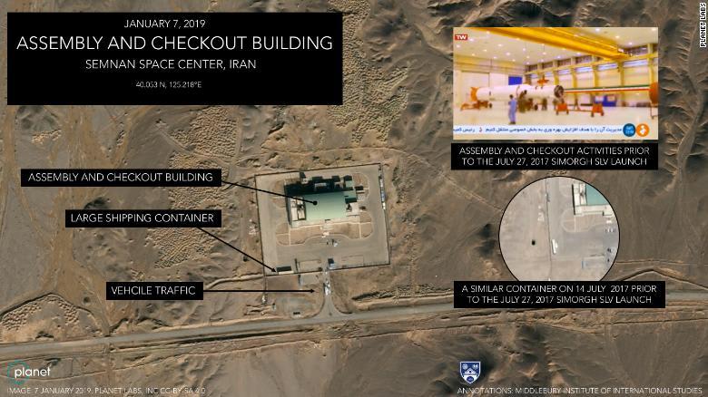 """هذا ما كشفته صور حصلت عليها CNN لمركز """"الإمام الخميني"""" بإيران"""