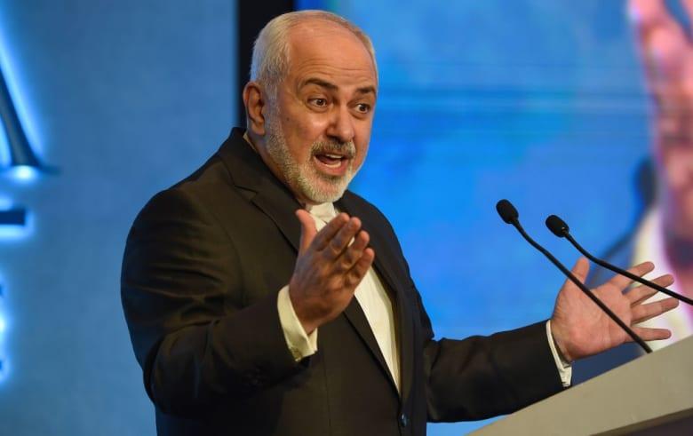 """بعد خطاب بومبيو في مصر.. ظريف يرد بتغريدة عن """"الفوضى والقمع"""""""