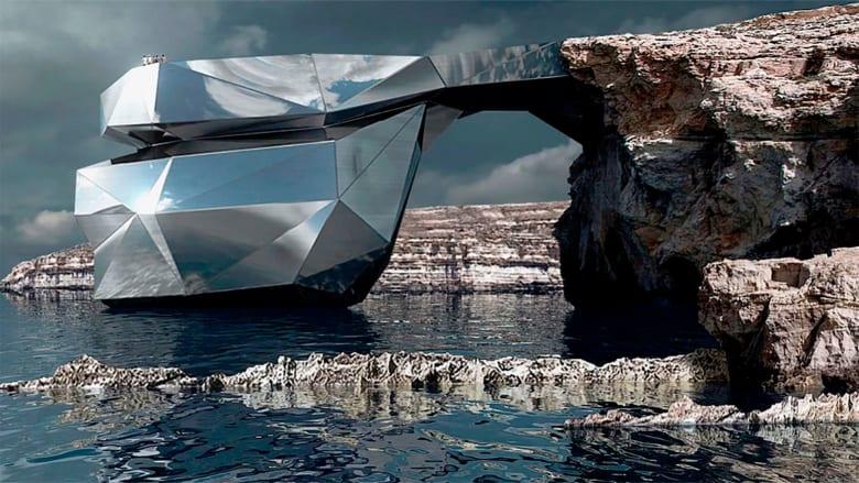 """بعد انهيار نافذة """"أزور"""" بمالطا.. قد يستبدلها هذا الممر الفولاذي"""
