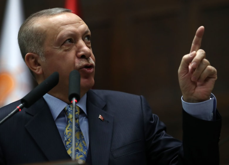 أردوغان عن هجوم منبج: مقتل 20 بينهم 5 جنود أمريكيين