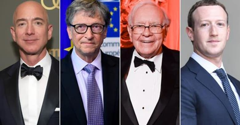 ثروات أغنى 26 شخصاً في العالم تعادل ممتلكات 3.8 مليار شخص