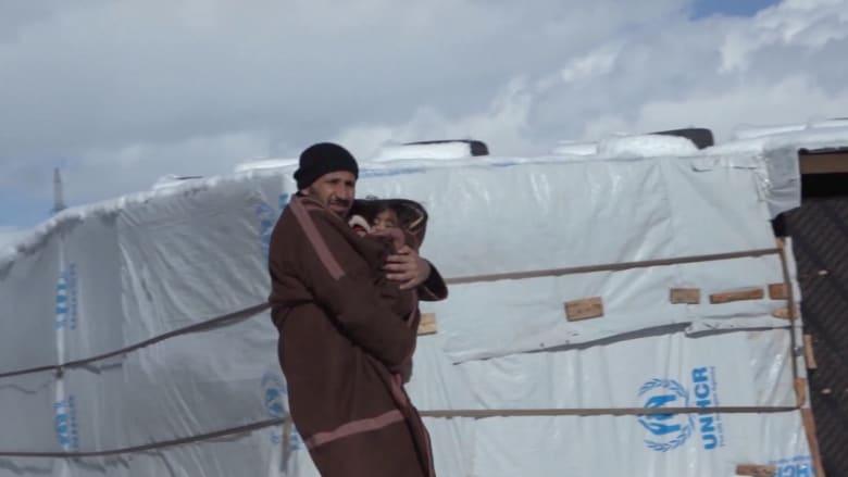 الطقس لم يرحمهم.. العاصفة ميريام تعمق جراح اللاجئين في لبنان