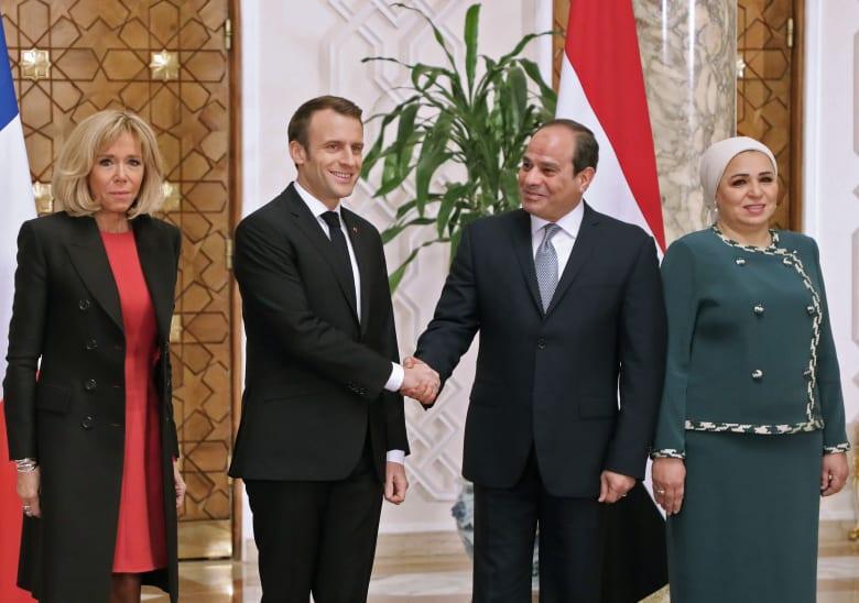 زيارة أبو سمبل وقضية المعتقلين.. كل ما نعرفه عن زيارة ماكرون لمصر حتى الآن