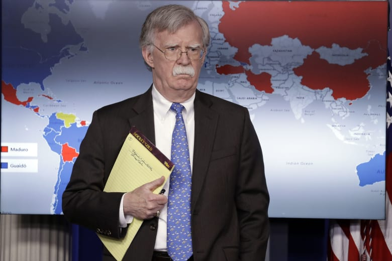 مستشار الأمن القومي الأميركي، جون بولتون
