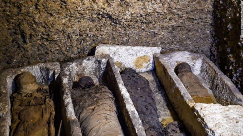اكتشاف أكثر من 40 مومياء في مصر.. فإلى أي حقبة تعود الجثث؟