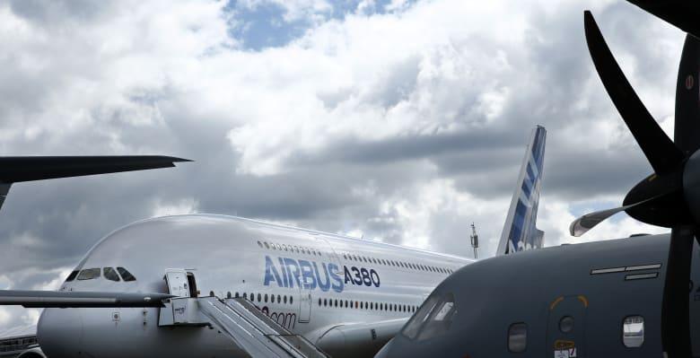 """""""إيرباص"""" توقف إنتاج طائرتها العملاقة """"A380"""" اعتبارًا من 2021"""