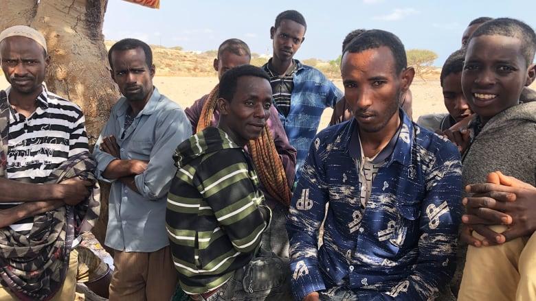 مهاجرون إثيوبيون في جيبوتي