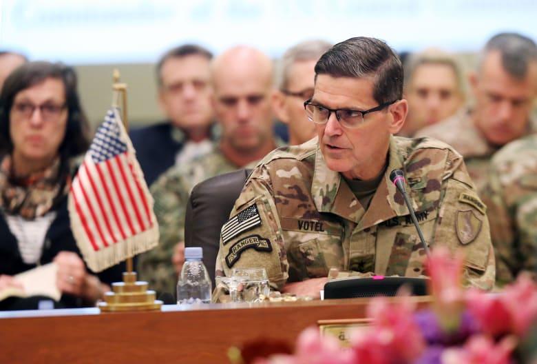 في اجتماع شهد تشديدا أمنيا.. قائد القيادة المركزية الأمريكية يرفض طلب سوريا الديمقراطية