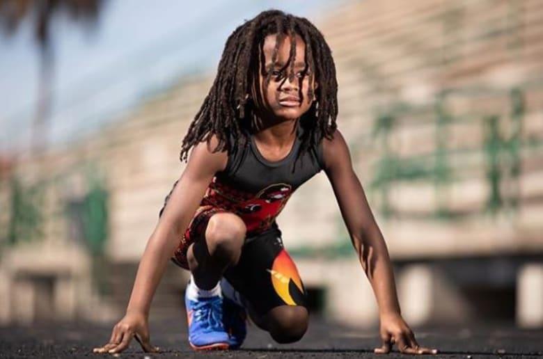 100 متر في 13.48 ثانية.. هل هذا هو أسرع طفل في العالم؟