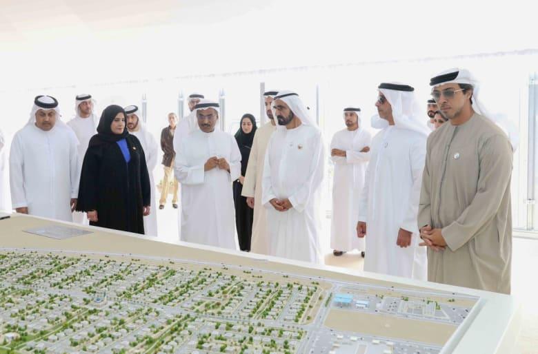 محمد بن راشد يعتمد 8.7 مليار دولار لبناء 34 ألف وحدة سكنية للإماراتيين