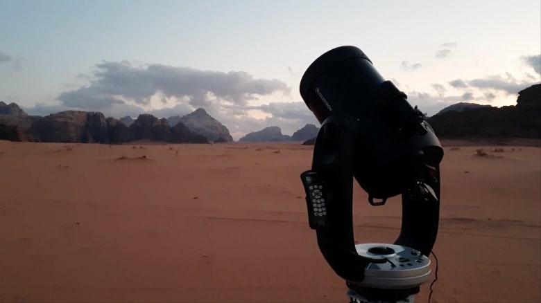 """""""رم سكاي"""" .. مشروع أردني لهواة الرصد الفلكي والتخييم"""