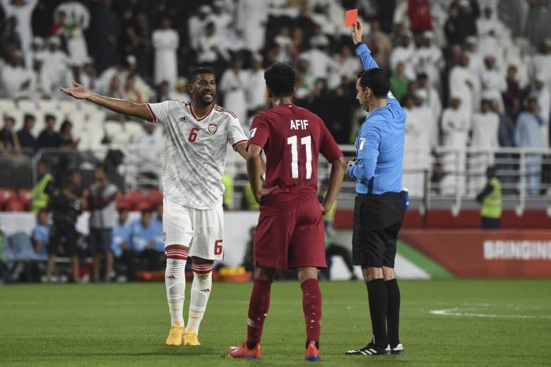 الاتحاد الآسيوي يغرم الاتحاد الإماراتي بسبب مباراة قطر